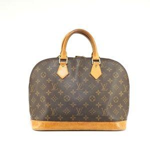 Auth Louis Vuitton Alma Bag #671L34